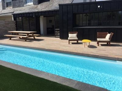 house with swimming pool close to the port of Vannes - Vannes