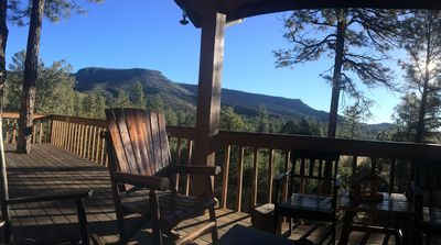 Photo for Family Friendly Log Cabin With Views Of The Mogollon Rim