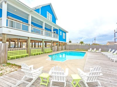 Photo for Incredible Gulf View Home W/ Pool-Sleeps 30 people! Bring the whole family!