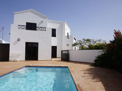 Photo for Luxury villa, panoramic views, private heated swimming pool, full air con & wifi