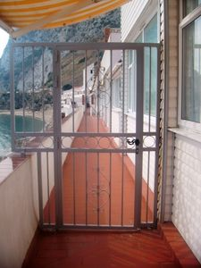 View from gated property