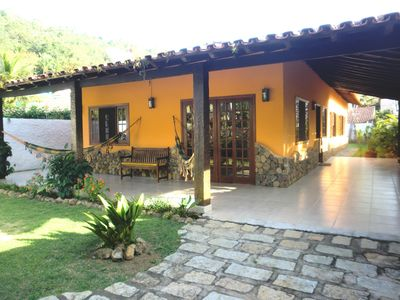 Photo for Cozy cottage with a suite and two bedrooms in the Perequê
