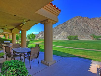 Photo for 238LQ  PGA WEST 14TH FAIRWAY ARNOLD PALMER PRIVATE WITH MOUNTAIN VIEWS
