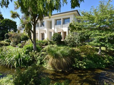 Photo for Stream Lea - lavish, elegant home surrounded by sparkling stream and lush garden