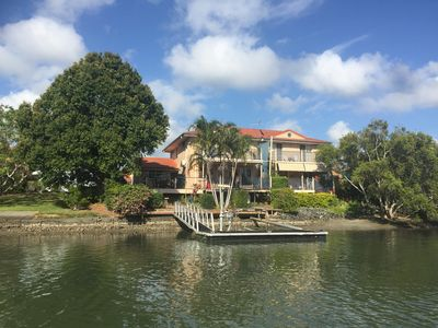 Photo for Luxury Waterfront Home| Private Jetty| 3 Bed| Pool | Sleeps 8