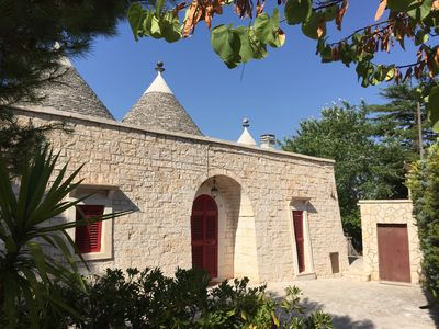 Photo for Beautifully renovated Trulli Villa with salt water pool