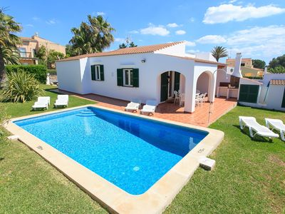 Photo for Villa Calitja Dos: Large Private Pool, Walk to Beach, WiFi, Car Not Required