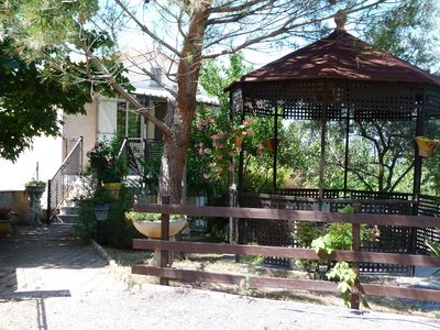 Photo for Villa in the countryside with three gardens and closed private parking.  Beautiful Prestatio