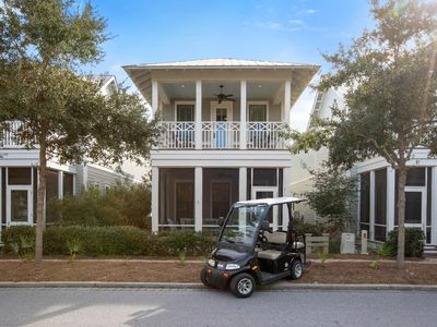 Photo for Spacious  5 Bedroom with Golf Cart Steps to Dragonfly Pool