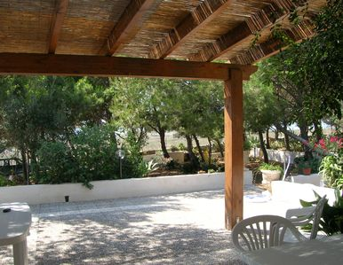 Photo for FAVIGNANA: STUDIO 2 PLACES IMMERSED IN THE GREEN OF A WONDERFUL PINETA