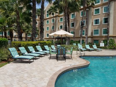 Photo for FREE Shuttle to Disney Theme Parks + No Resort Fee | Spacious Suite in Orlando