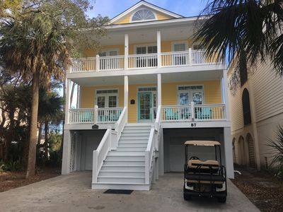 Photo for On Canal w/ Dock, Golf View, Golf Cart, Bikes and more! 2 Amenity Cards Included