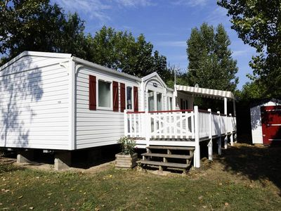 Photo for Camping Le Bois Soleil **** - Mobilhome for 6 People