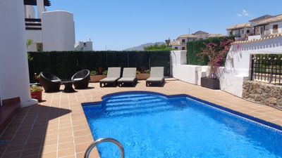 Photo for 2 Bed Villa sleeps 5 with Private Swimming Pool  &  Free WIFI
