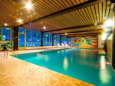 Photo for Beautiful appartment with indoor swimming pool, gym and panoramic view