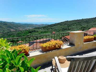 Photo for Vacation home Bella Vista (DOL284) in Dolcedo - 4 persons, 2 bedrooms