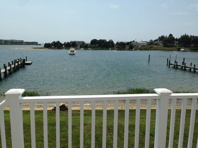 Photo for Private beach and dock, 4 Bedroom, 1.5 bath, open water access