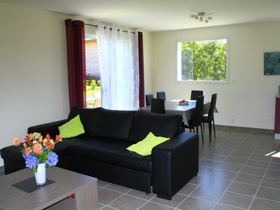 Photo for Cottage, 3 bedrooms, 6 people, 800 m beach Trestel blue flag
