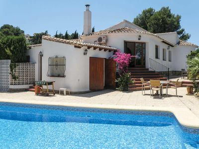 Photo for 4 bedroom Villa, sleeps 8 in Llosa de Camacho with Pool, Air Con and WiFi
