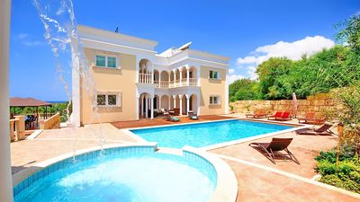 Photo for Ivory Mansion - Villa With Private Pool And Sea Views - Car Hire Not Necessary