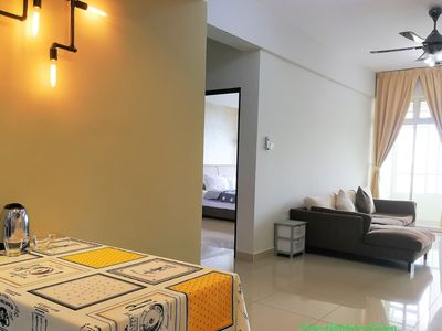 Photo for 2BR Homestay WIFI Austin Heights 5min to Austin Waterpark Ikea Aeon Tebrau JYNes