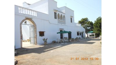 Photo for Masseria Campi - Three-room apartment 8 km from the sea 15 from Ostuni