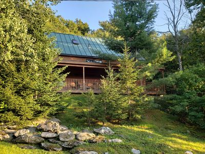 Ski In / Ski Out Post and Beam Vermont Country home