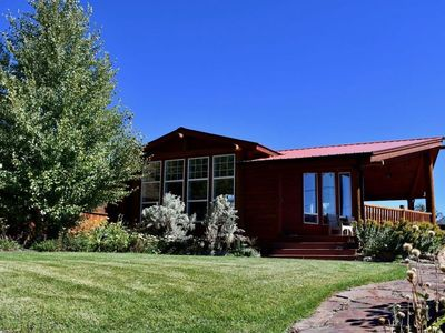 Photo for NEW - Gardiner Hillside Hideaway Overlooks Yellowstone - Great for Large Groups!