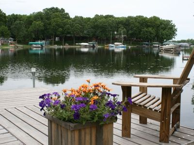 Photo for Bayfront Cabin on Cotton Lake