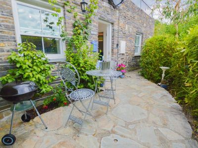 Photo for This cottage is located just a short walk away from the beautiful Malpas Marina.