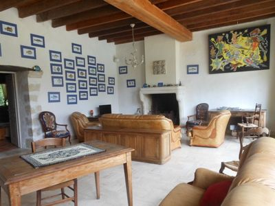 Photo for Vacation home La Boulangerie in Vouvant - 11 persons, 3 bedrooms