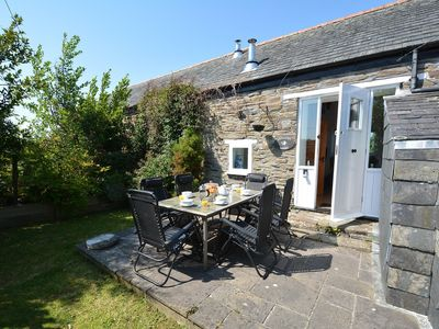 Photo for A spacious barn conversion with charming features in an AONB near Looe. Pet-friendly.