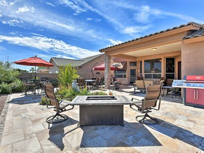 Photo for Mesa Home w/Patio & Unobstructed Desert Views!