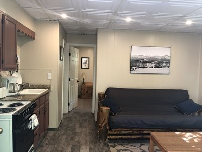 Newly remodeled Cabin! New carpet, trim, lights, and ceiling!