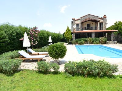 Photo for 3 bedroom  villa with own pool and large garden in ovacik oludeniz