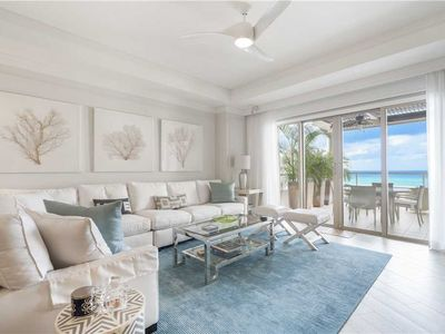 Photo for Marvelous Top-floor Ocean View Residence located at The Ritz-Carlton, Grand Cayman