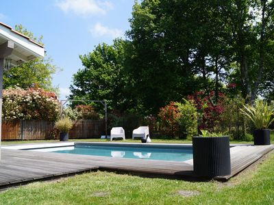 Photo for Villa Séverine from 8 to 12 people with heated pool
