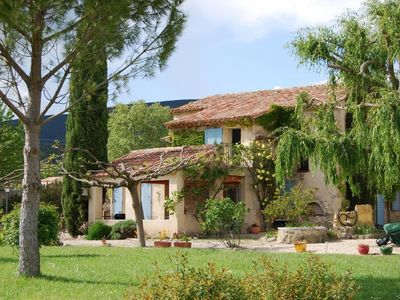 Photo for South Luberon, near Lourmarin - Charming Mas Cucuron - For 9 people