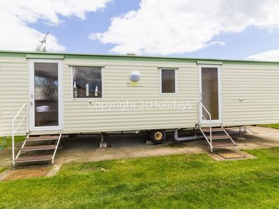 Photo for Dog friendly caravan for hire in Norfolk.On a brilliant holiday park.ref 50002aE