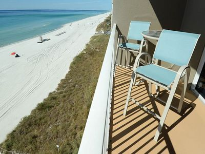 Photo for Picture-perfect beachfront condo w/Gulf views, shared hot tub, sauna, and pools