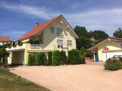 Photo for FeWo-Sandra / Modern, well-equipped barrier-free apartment with carport in Wadern
