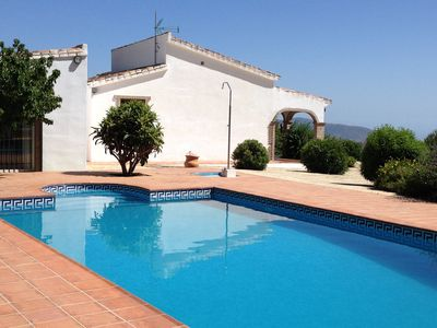 Photo for Villa With Large Private Pool And Fantastic Mountain And Lake Views