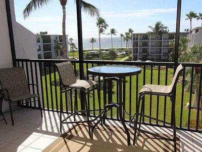 Photo for Gulf and Courtyard View, Two Bedroom Condo - Sundial H402