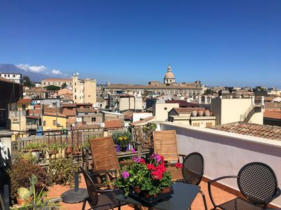 Photo for A delightful suite with terrace in the historic center near Piazza Duomo