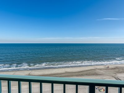 Photo for Luxurious 1,200 sq ft Oceanfront Two Bedroom Penthouse.