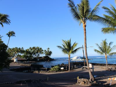 Photo for New Remodel, Air Conditioned 2/2 Across from the Big Island's Best Snorkel Beach