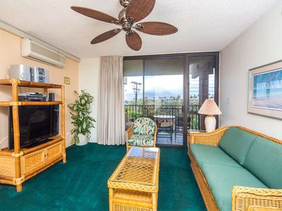 Photo for Condo Relaxation w/Roomy Living Area, Lanai, Kitchen, WiFi–Kamaole Sands 4303