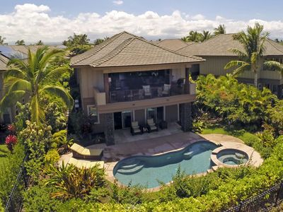 Photo for Paradise Perfected!  Relax with Private Pool and Golf Course views.