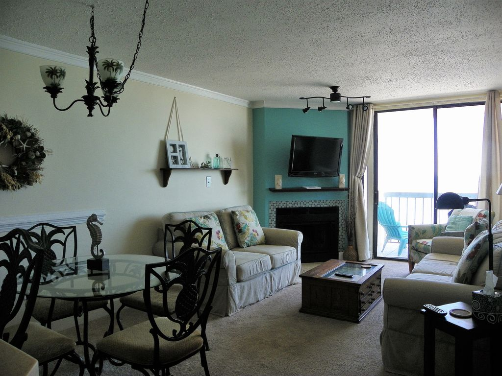 Gorgeous 3 Bedroom Ocean Front Condo North Myrtle Beach Myrtle Beach Grand Strand Area South