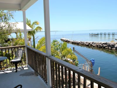 Photo for Bay Views from this Charming 3 Bedroom Canal Home